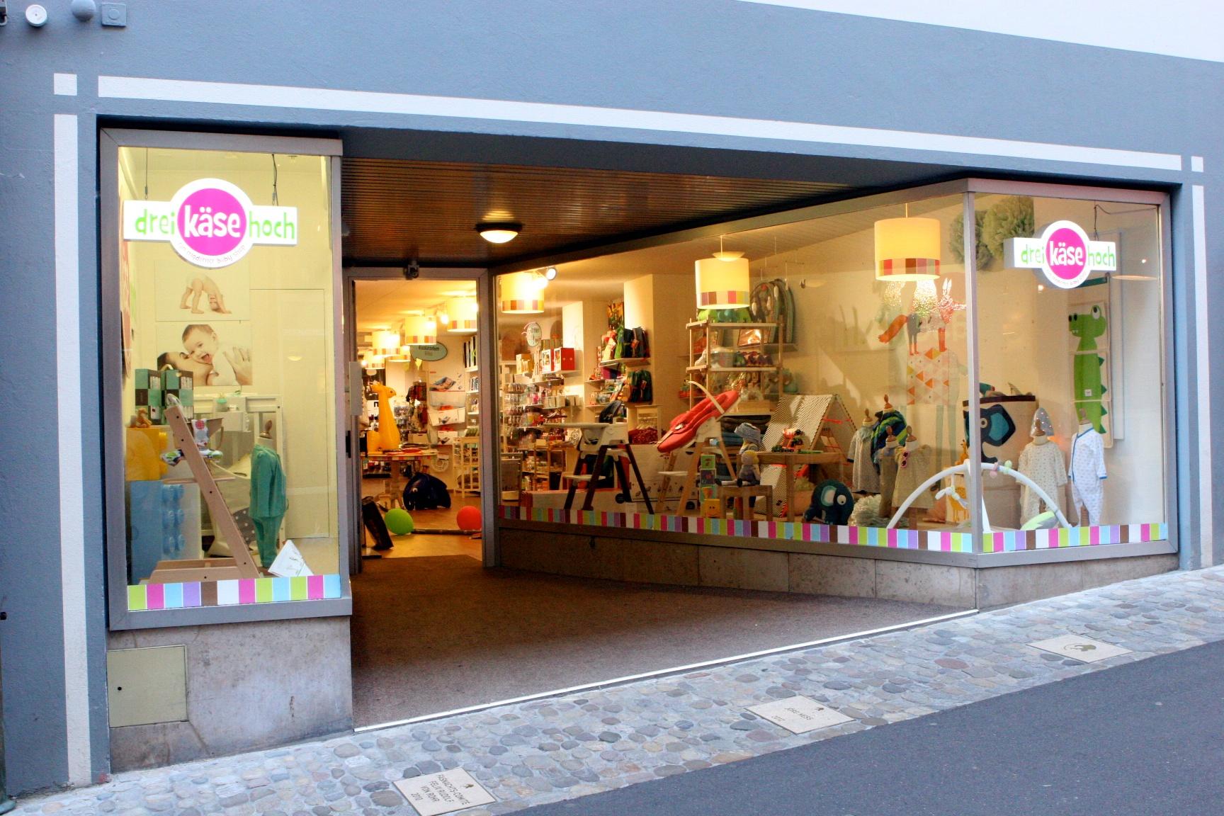 Über unseren Babyshop in Basel Schweiz