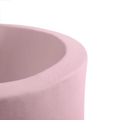 MISIOO Bällebad, 90x40 cm, Rosa inkl. 200 Bälle (weiss/grau)