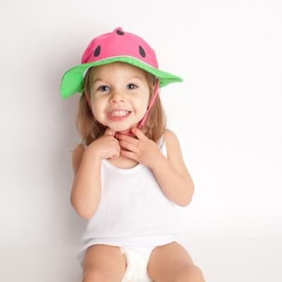 Zoocchini Sonnenhut mit UV-Schutz, Wassermelone