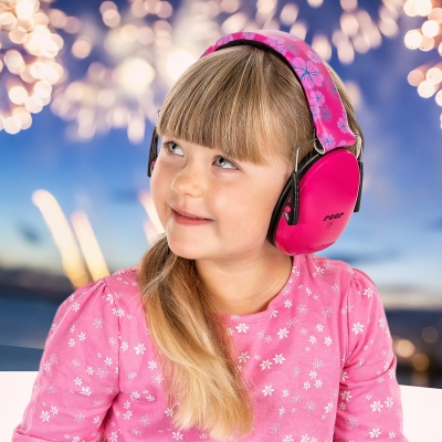 Reer Silent Guard Gehörschutz für Kinder ab 3 Jahren, Pink