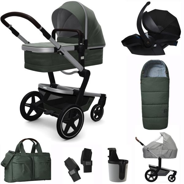 JOOLZ Day+ Kinderwagen Premium Set, Marvellous Green (inkl. Versicherung)