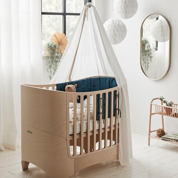 Leander Nestchen für Classic Babybett, Dark Blue