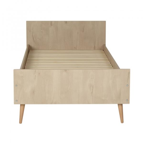Quax Cocoon Junior Bett 200 x 90 cm, Natur Eiche