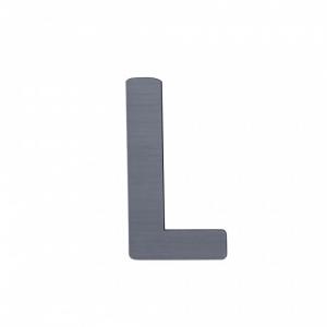 Sebra Deko-Buchstaben L, Grau