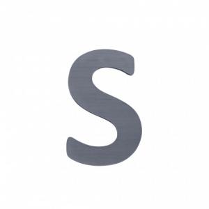 Sebra Deko-Buchstaben S, Grau