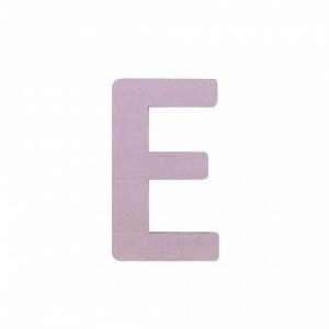 Sebra Deko-Buchstaben E, Dusty Rose