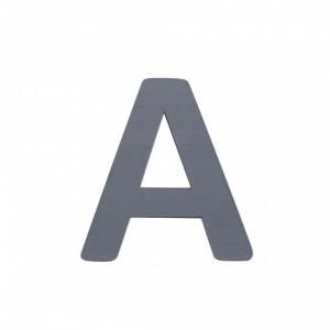 Sebra Deko-Buchstaben A, Grau