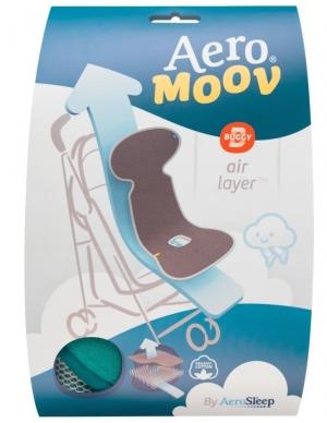 AeroMoov Air Layer, Sommerunterlage für Kinderwagen/ Buggy - dunkelgrau