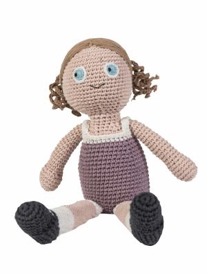 Sebra Häkel-Puppe, Daisy