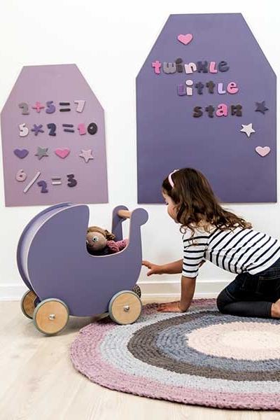 Magnettafel Kinderzimmer | Sebra Magnettafel