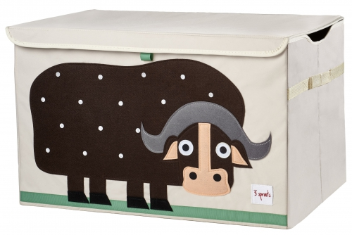 3 sprouts toy chest, büffel - milkii - quality baby products