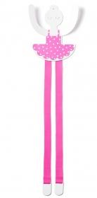 Tresxics Haarspangenhalter & Wandhaken, Ballerina Pink