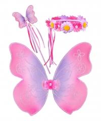 Souza for Kids Elfenset Violetta (Flügel+Zauberstab+Haarband)
