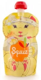 SQUIZ Wiederverwendbare Quetschbeutel (130ml) Carneval Katze