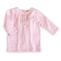 Aden+Anais Tunic Top, 0-3 Monate - Lovely Solid Pink