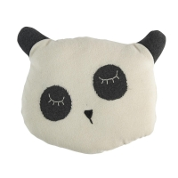 Sebra Häkel-Kissen Panda