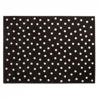 Lorena Canals Acryl Kinderteppich, Dots Brown 200 x 300 cm