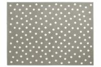 Lorena Canals Acryl Kinderteppich, Dots Grey 140 x 200 cm