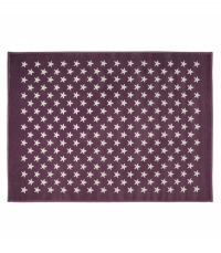 Lorena Canals Acryl Kinderteppich, Estrellas Lila / Purple 120 x 160 cm