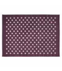 Lorena Canals Acryl Kinderteppich, Estrellas Lila / Purple 140 x 200 cm