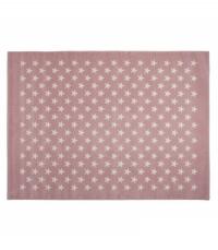 Lorena Canals Acryl Kinderteppich, Estrellitas Pink 200 x 300 cm