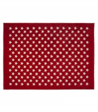 Lorena Canals Acryl Kinderteppich, Estrellitas Red 200 x 300 cm
