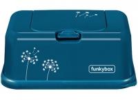 FunkyBox Feuchttücher Box, Petrol Dandelion
