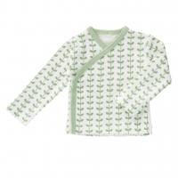 Fresk Wickelshirt, Leaves Mint