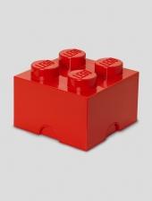 LEGO Storage Brick 4, Aufbewahrungsbox, rot