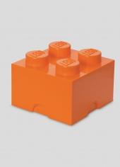 LEGO Storage Brick 4, Aufbewahrungsbox, orange