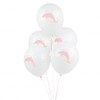 My Little Day Luftballone aus Latex, 5 Stk. - Delfine