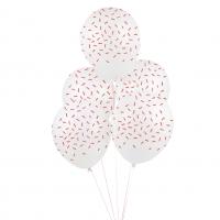 My Little Day Luftballone aus Latex, 5 Stk. - Red Sticks