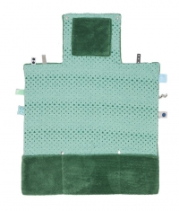 Snoozebaby Wickelmatte Easy Changing, Forest Green
