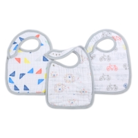 Aden + Anais Lätzchen Snap Bibs, 3er Pack - Leader of The Pack