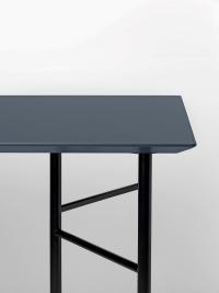 Ferm Living Tisch in Charcoal, 160 cm (div. Beinfarben)