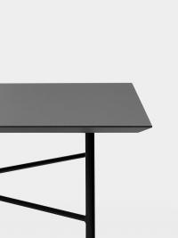 Ferm Living Tisch in Schwarz, 210 cm (div. Beinfarben)