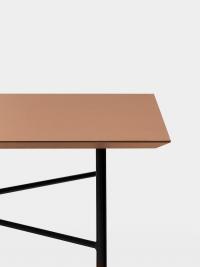 Ferm Living Tisch in Ocker, 210 cm (div. Beinfarben)