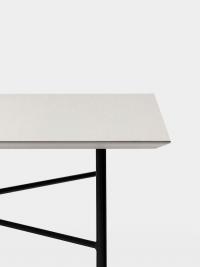 Ferm Living Tisch in Hellgrau, 210 cm (div. Beinfarben)