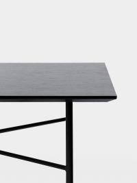 Ferm Living Tisch in Schwarz Eiche, 210 cm (div. Beinfarben)