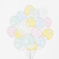 My Little Day Luftballone aus Latex, 100 Stk. - Confetti Pastel