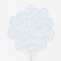 My Little Day Luftballone aus Latex, 100 Stk. - Confetti Blau