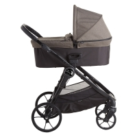 Baby Jogger City Premier, Taupe 2018 mit Deluxe Wanne