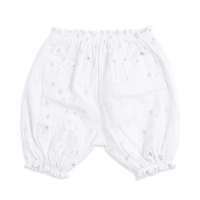 Aden Anais Bubble Shorts - Metallic Silver Sturdust
