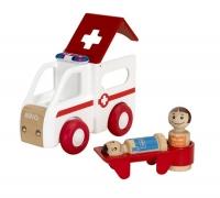 Brio Krankenwagen mit Licht und Sound