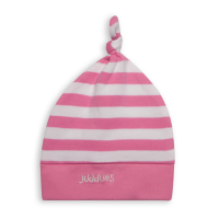 Juddlies Everyday Collection Baby Mütze, Rosa gestreift