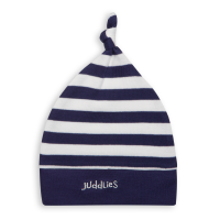 Juddlies Everyday Collection Baby Mütze, Navy gestreift