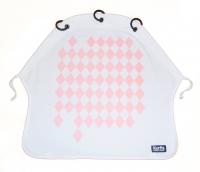 Kurtis Sonnen- & Windschutz für den Kinderwagen, Diamonds Pink