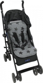 Dooky Multicomforter Sitzauflage, Sterne Grau