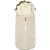 JOOLZ Essential Nest für Wanne & Autositz Ribbed, Off-White