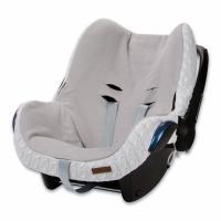 Babys Only Bezug für Babyschale, Uni Weiss